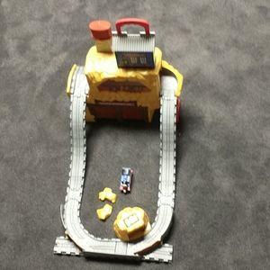 Thomas Take N Play Rumbling Gold Mine Run Playset